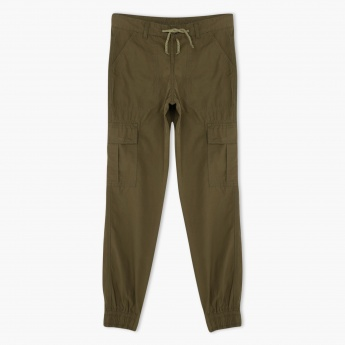 Posh Clothing Cuffed Cargo Pants