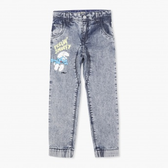 The Smurfs Printed Jeans