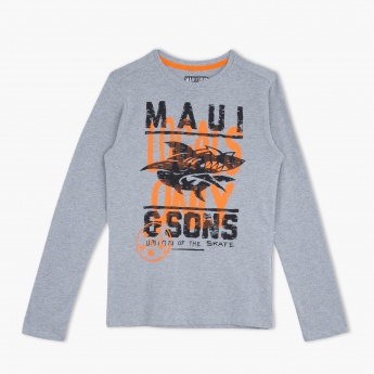 Maui & Sons Crew Neck T-Shirt