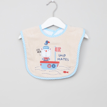 Juniors Embroidered Bib