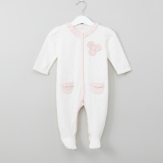 Juniors Printed Applique Detail Sleepsuit
