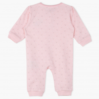 Juniors Round Neck Long Sleeves Sleepsuit