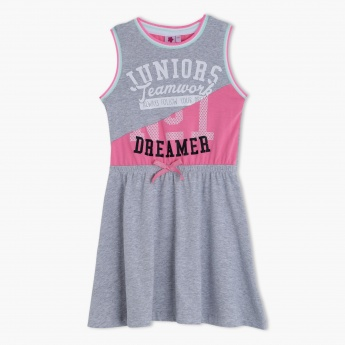 Juniors Knit Sleeveless Dress