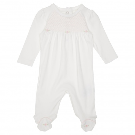 Juniors Embroidered Sleepsuit