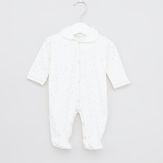Juniors Printed Sleepsuit with Long Sleeves