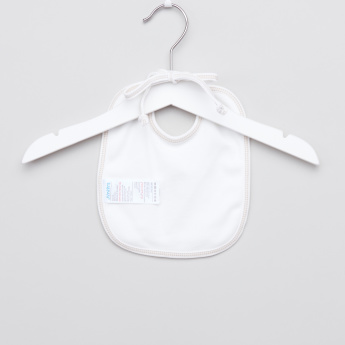 Juniors Sheep Embroidered Bib