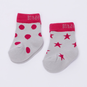 Blade & Rose Printed Socks - Set of 2