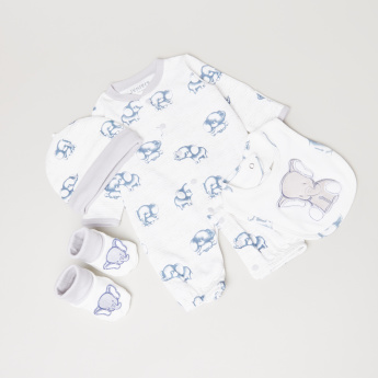 Juniors Printed 4-Piece Clothing Set