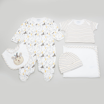 Juniors 5-Piece Printed Value Pack Set