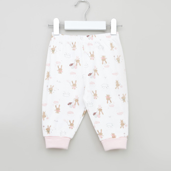 Juniors Bunny Printed 7-Piece Cotton Value Pack