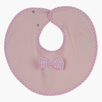 Juniors Bow Detail Bib