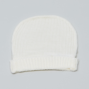 Juniors Textured Beanie Cap