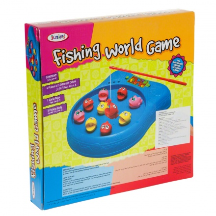 Juniors Fishing World Game