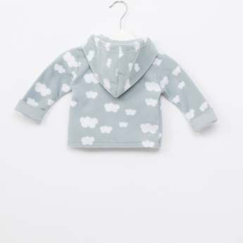 Juniors Printed Jacket and Pyjama Set