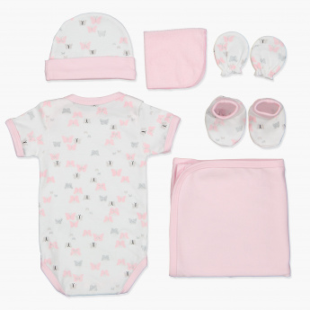 Juniors Printed 6-Piece Gift Set