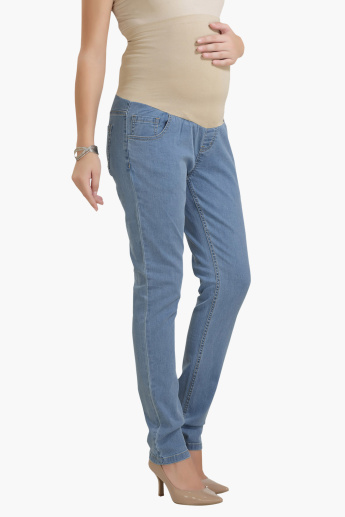 House of Napius Maternity Jeans with Tummy Hug