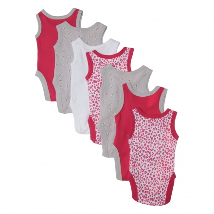 Juniors Printed Bodysuit - Set of 7