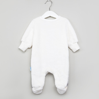 Juniors Plush Closed Feet Sleepsuit