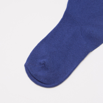 Juniors Solid Ankle Socks - Set of 3