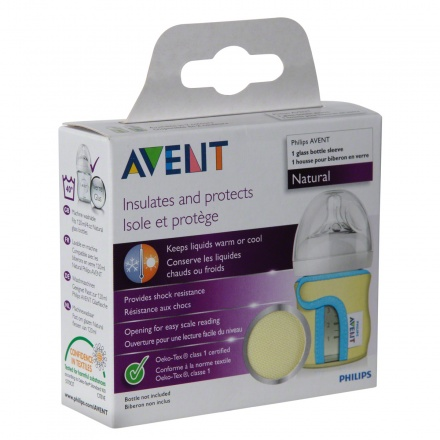 Avent Glass Bottle Sleeve - 120 ml