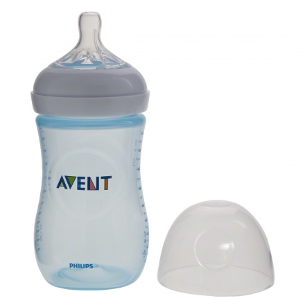 Avent Natural Feeding Bottle - 260 ml - Pack of 2