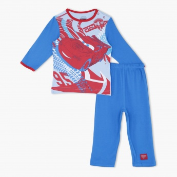 Cars Printed Pyjama Set