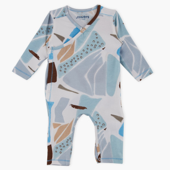 Juniors Printed Long Sleeves Sleepsuit
