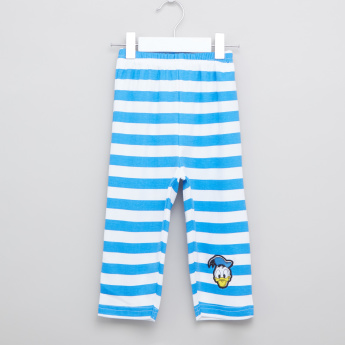 Donald Duck Printed T-shirt and Pyjama Set