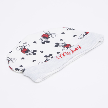 Mickey Mouse Printed Beanie Cap