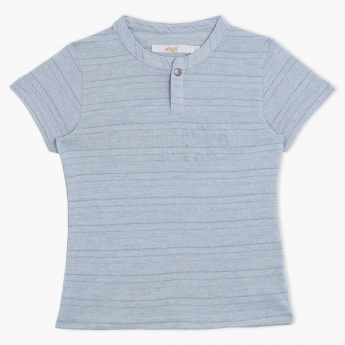 Eligo Henley Neck T-Shirt