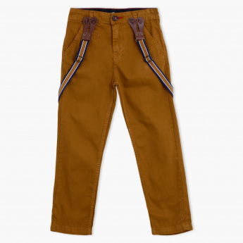 Juniors Full Length Pants with Braces