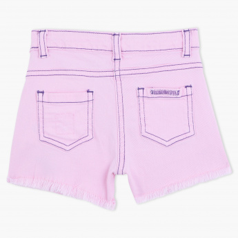 Juniors Shorts with Fringes