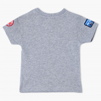 Cars Crew Neck Printed T-Shirt