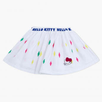Hello Kitty Printed Mini Skirt