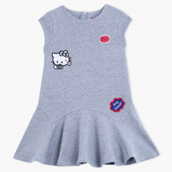 Hello Kitty Printed Knit Dress