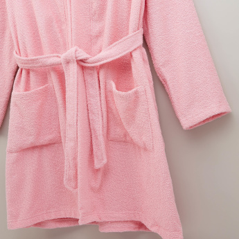 Juniors Textured Bathrobe