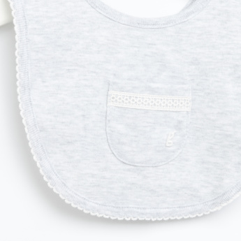 Giggles Pocket Detail Bib