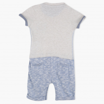 Giggles Knitted Romper