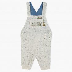 The Jungle Book Printed Dungarees