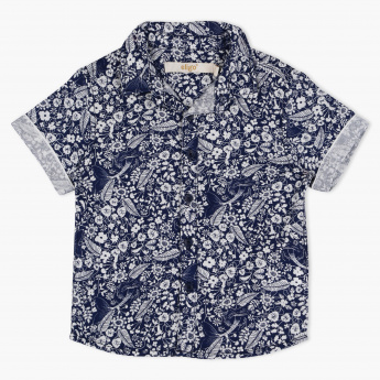 Eligo Printed Short Sleeves Shirt