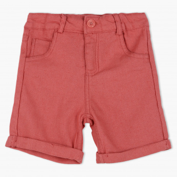 Eligo Shorts with Button Closure