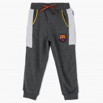 Football Club Barcelona Applique Detail Full Length Jog Pants