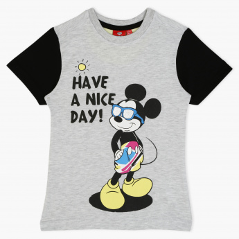 Mickey Mouse Printed T-Shirt
