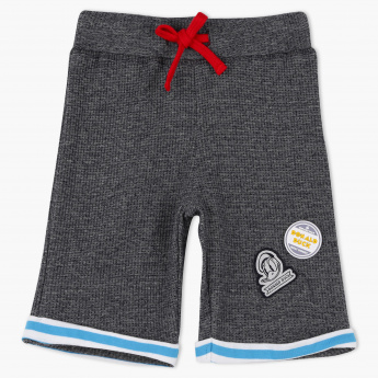 Donald Duck Applique Shorts with Elasticised Waistband