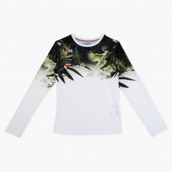 Posh Printed Crew Neck T-Shirt