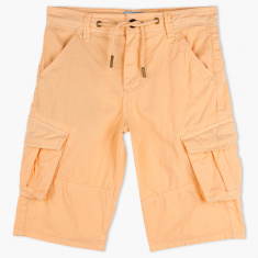 Lee Cooper Shorts with Button Closure
