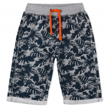 MAUI and Sons Printed Shorts with Elasticised Waistband