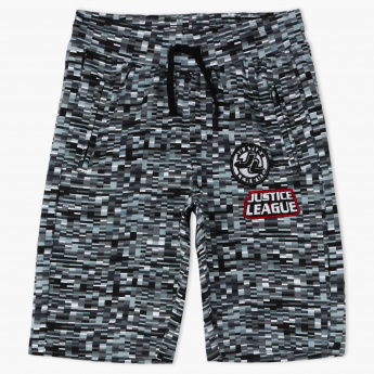 Justice League America Woven Shorts