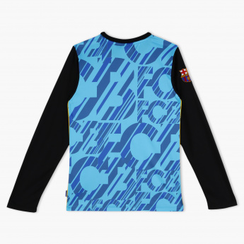 FC Barcelona Printed Crew Neck T-Shirt