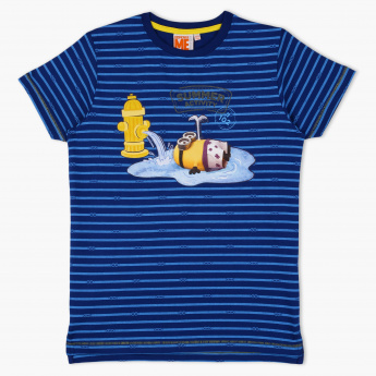 Despicable Me Printed Round Neck T-Shirt